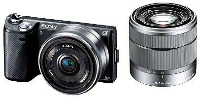 ソニー デジタル一眼カメラ「NEX-5N」ダブルレンズキット(ブラック)SONY NEX-5N NEX-5ND-B